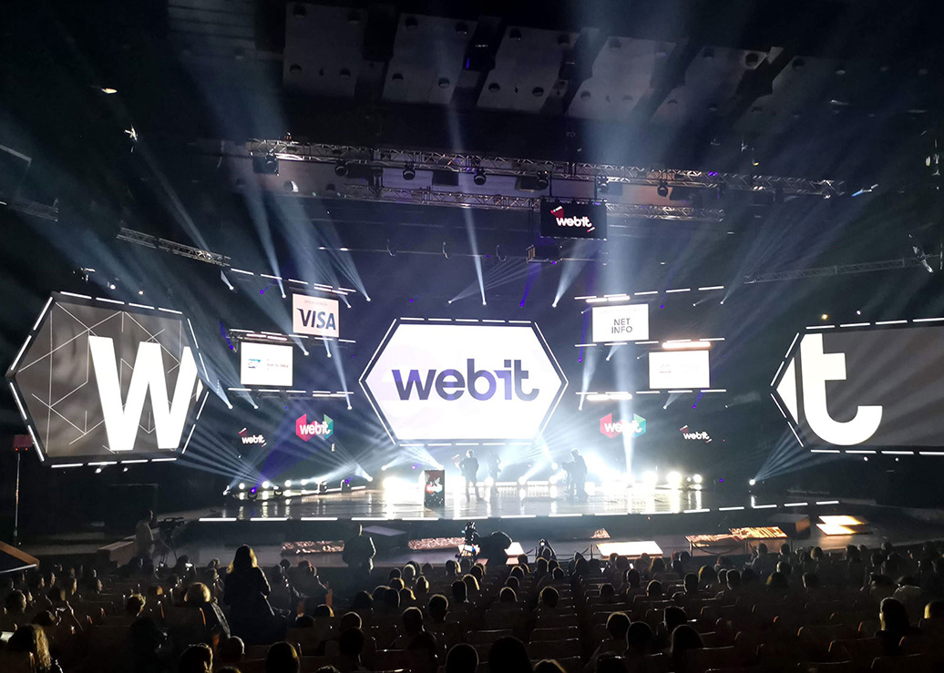 AVIION team at Webit 2019, Sofia, Bulgaria
